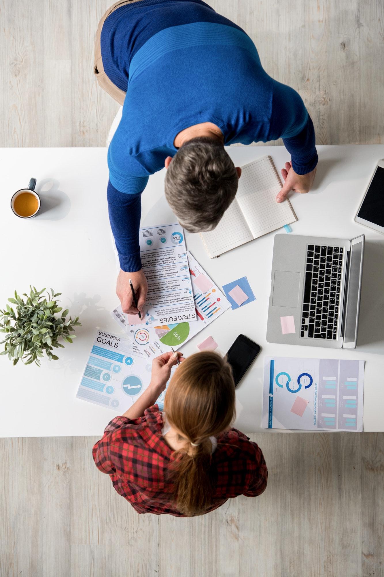 Choosing marketing strategies at meeting